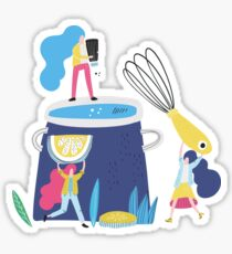 Cooking Time Sticker