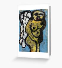 Angel in disguise Greeting Card