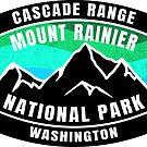 Mount Rainier National Park Washington by MyHandmadeSigns
