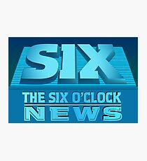 The Six O'Clock News Photographic Print