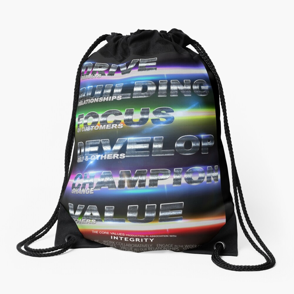 Integrity Drawstring Bag