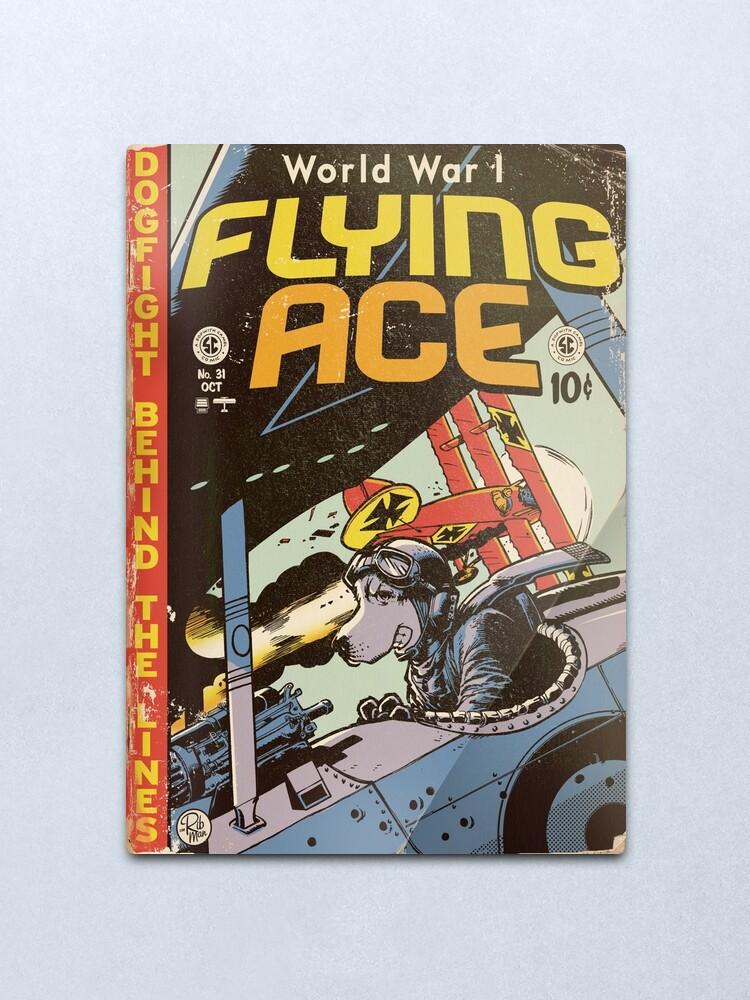 Alternate view of World War 1 Flying Ace Metal Print