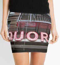Liquors Mini Skirt