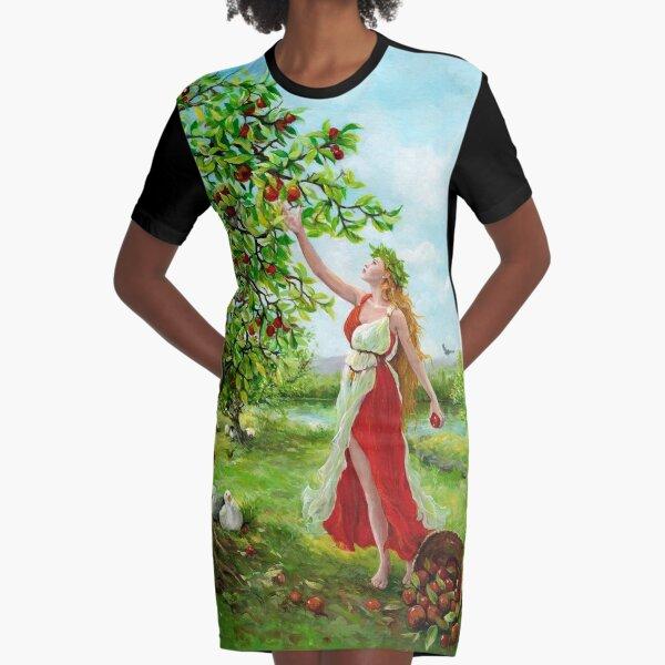 Pomona Graphic T-Shirt Dress
