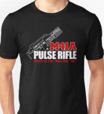 M41A Pulse Rifle State of the Badass Art Unisex T-Shirt