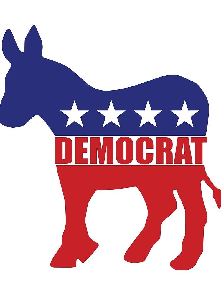 Democrat Donkey Logo by Democrat