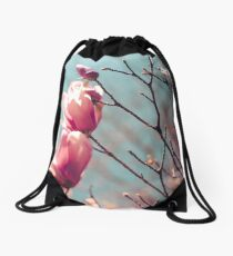 spring is here Drawstring Bag