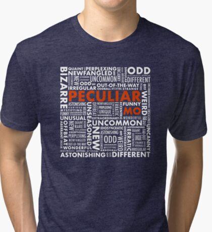 Peculiar Words Tri-blend T-Shirt