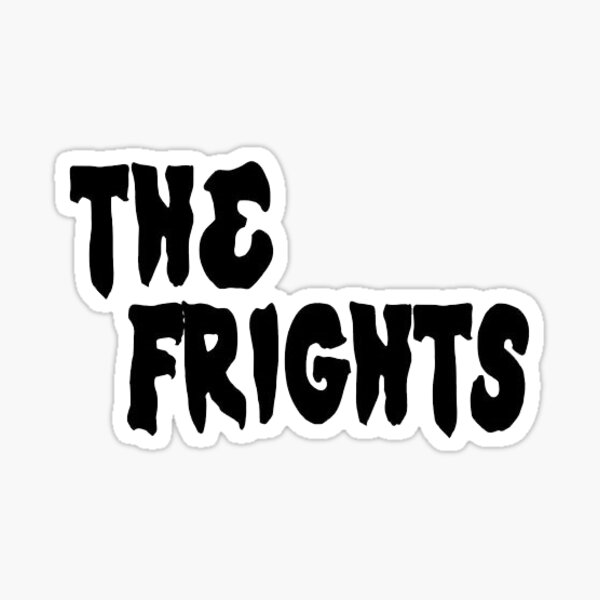 the frights Sticker