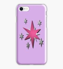 Metallic Twilight Sparkle Cutie Mark iPhone Case/Skin