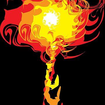 Chaos Flame by davayala93