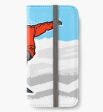 Snowbording iPhone Wallet/Case/Skin