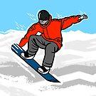 Snowbording by Adam Regester