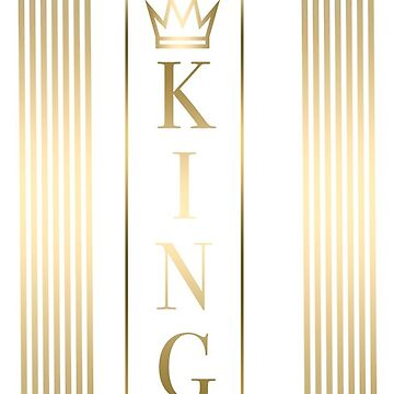 KING IPHONE CASE by ctdgraphicx