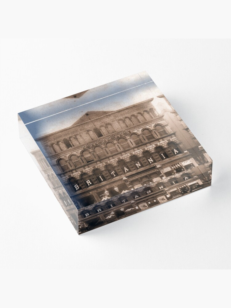 Alternate view of The Britannia Panopticon - Music Hall Acrylic Block