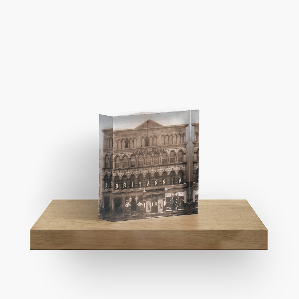 The Britannia Panopticon - Music Hall Acrylic Block