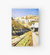 Catanzaro: railway station Hardcover Journal