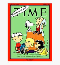 Charlie Brown/ Peanuts on the Cover of Time Magazine Photographic Print