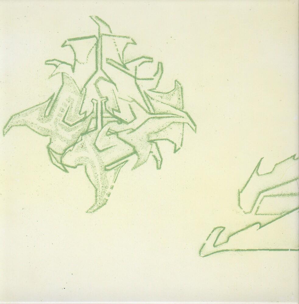 stencil experiment 01 2001 by antony hamilton
