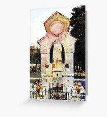 Catanzaro: tomb Greeting Card