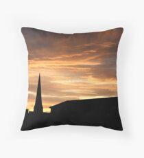 west end sunset Throw Pillow