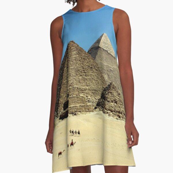 I am a 7000 years building A-Line Dress