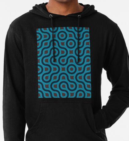 Blue Pattern  Lightweight Hoodie