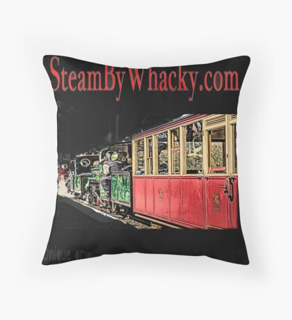 Steam bywhacky.com Throw Pillow