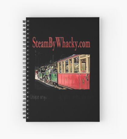 Steam bywhacky.com Spiral Notebook