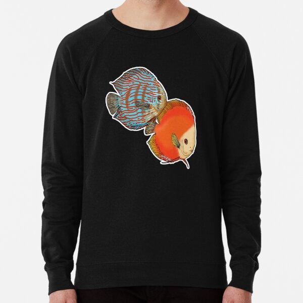 Diskusfisch! Leichter Pullover