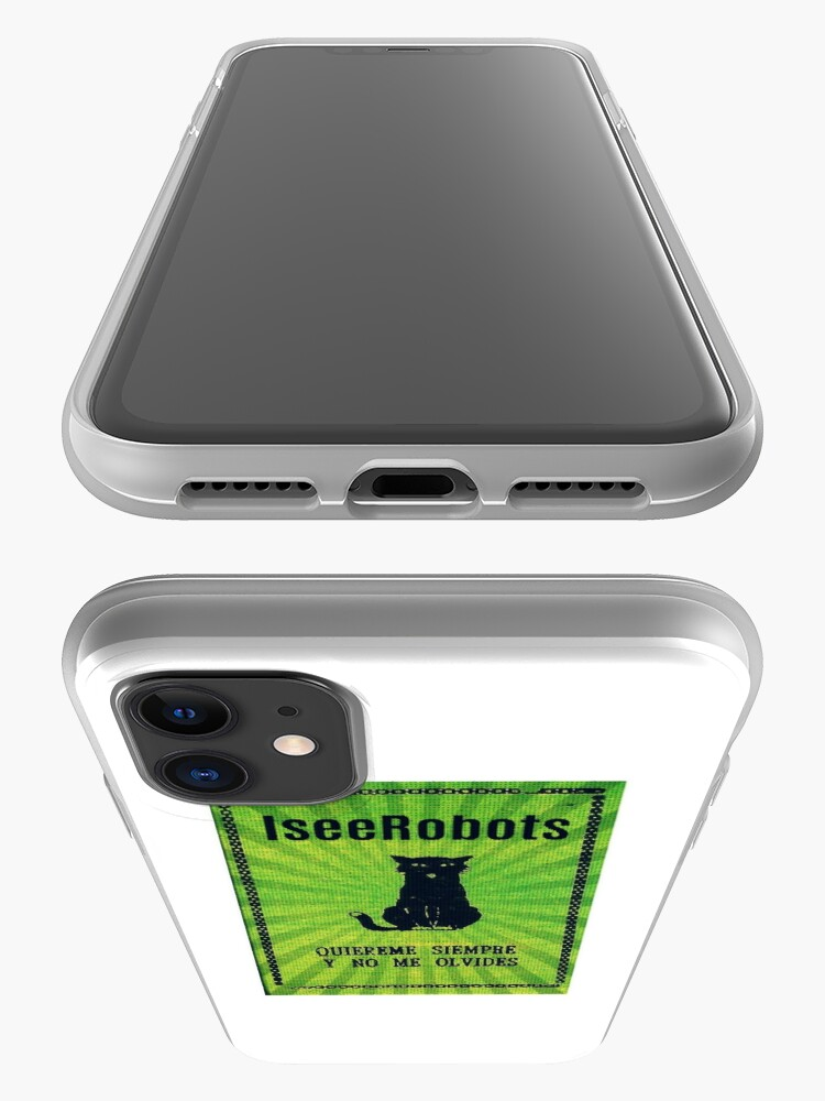 Alternate view of Green Haunted Soap Black Cat Sticker iPhone Case & Cover