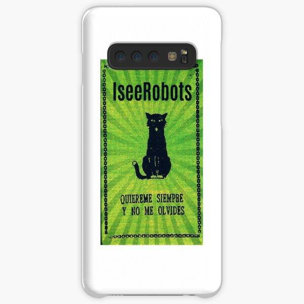 Green Haunted Soap Black Cat Sticker Samsung Galaxy Snap Case