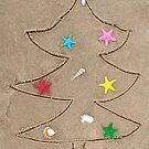 Beach Christmas by Maria Dryfhout