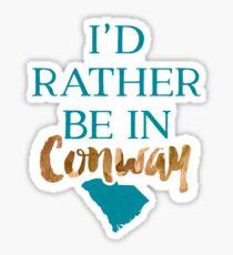 Coastal Carolina University - Style 8 Sticker