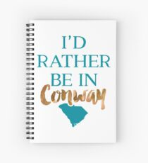 Coastal Carolina University - Style 8 Spiral Notebook