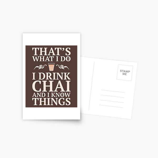 Desi Knows Things Postcard