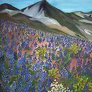 Mountain Lupine by elajanus