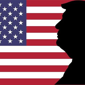 Trump American Flag President of the United States by 8675309