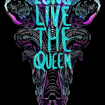 The Queen is Dead by Rekanize