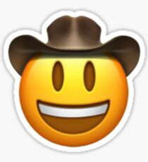 cowboy emoji Sticker