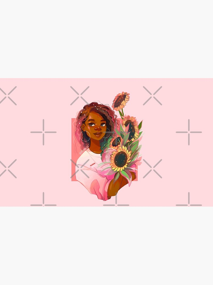 Girasoles rosas de GDBee