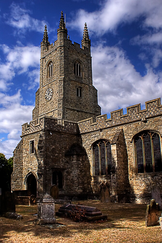 st mary's church by lurch