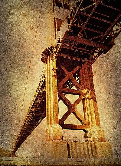 SAN FRANCISCO Series #4 by pat gamwell