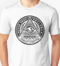 Anti New World Order - Novus Ordo Seclorum T-Shirt