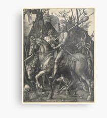 Knight, Death and the Devil (Dürer) Metal Print