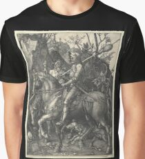 Knight, Death and the Devil (Dürer) Graphic T-Shirt
