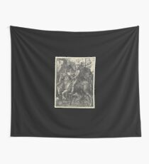 Knight, Death and the Devil (Dürer) Wall Tapestry