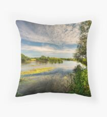 Across the Avon Throw Pillow