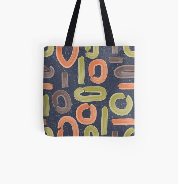 abstract storm All Over Print Tote Bag