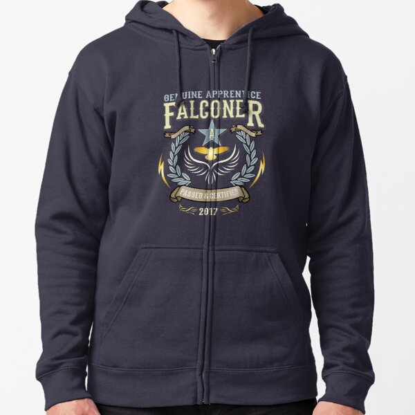 Apprentice Falconers Congratulations Shirts and Gifts  Zipped Hoodie